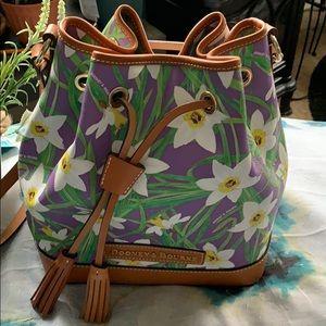 Donney & Bourne brand new floral satchel bag.